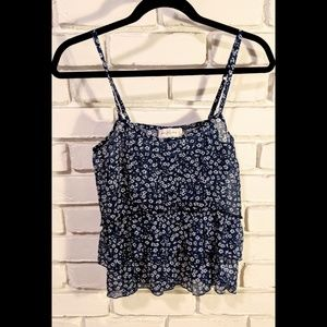 Abercrombie & Fitch | Blue Floral Cami Tank